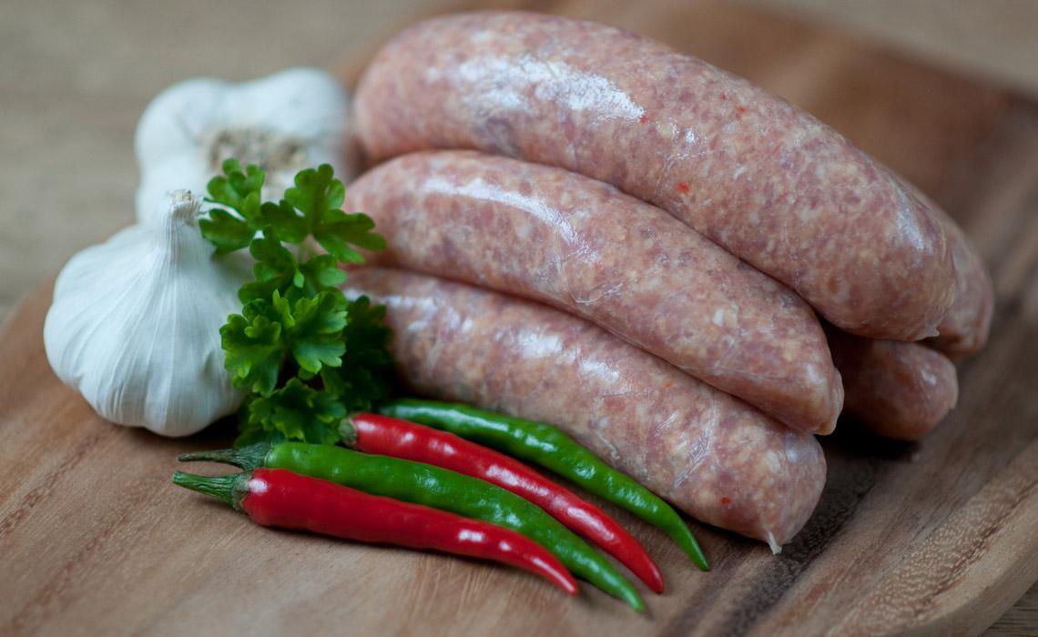 Coity Bach Award Winning Sausages
