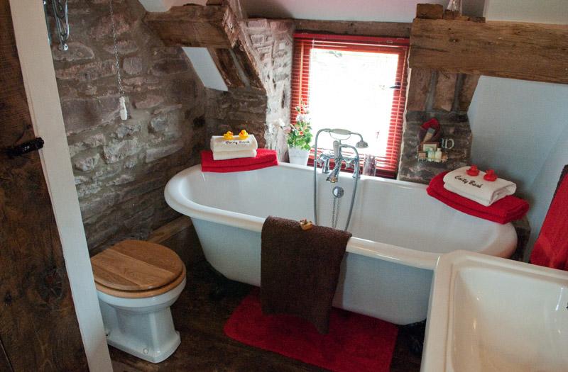 Ty Fferm Hen - Bathroom